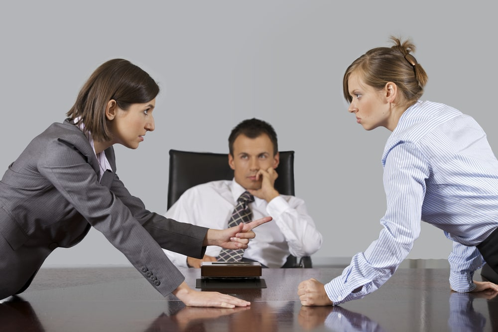 Конфликт на работе перед увольнением